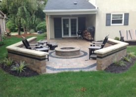 Timberwood Landscape Company - Patio and fire pit!