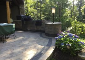Patio and landscape lighting