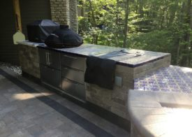 Timberwood Landscape Company - outdoor grill